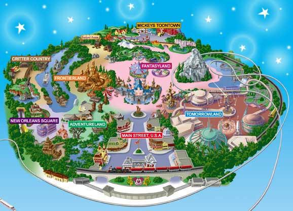 Gallery For Gt Printable Map Of Disneyland 2013